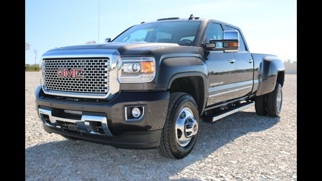 2015 Gmc Denali 3500 Dually 4x4 Diesel Trucks For Sale ...