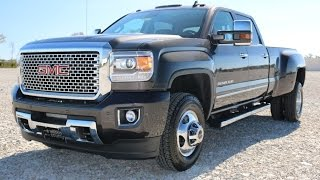2016 GMC Sierra 3500HD Denali DRW 4X4 Iridium Metallic Crew Cab Call 855-507-8520 for details