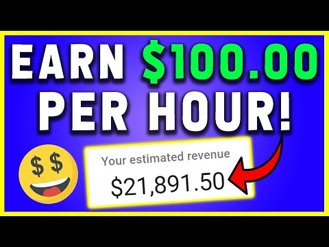Earn $100 Per Hour In FREE PayPal Money (How To Make Money Online)