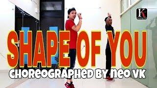 Shape of you - ed sheeran / CHOREOGRAPHED BY NEO VK / RYTHEM DANCE ACADEMY / RDA