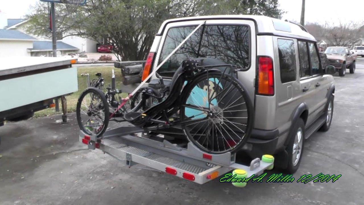 Recumbent Trike Transport Tray Rack Diy 2014 12 19 Actionbent