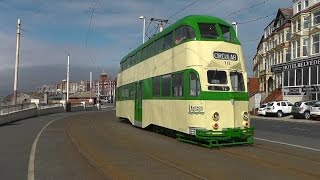 Blackpool Heritage Tram Tours 3rd May 2015