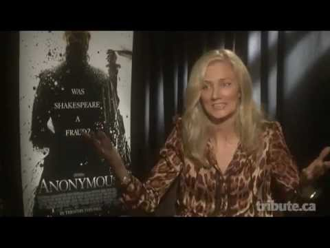Joely Richardson Interview - Anonymous