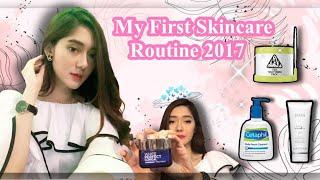 KeyVLOG - My Skincare Routine - August 2017 (Keira Shabira)