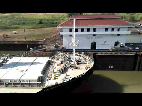 Visita al Canal de Panamá!!  Esclusa Miraflores Panamá City