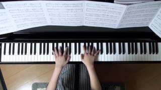 2015年11月23日 録画、 使用楽譜;月刊ピアノ2015年12月号.