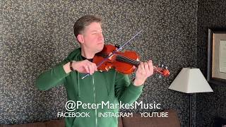 THE LAST OF THE MOHICANS |  Loop Violin Cover by Peter Markes