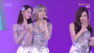 [20160315] Girls' Generation (소녀시대) _ Lion Heart [Onstyle SIA 2016 Style Icon Awards] [Live] [HD]