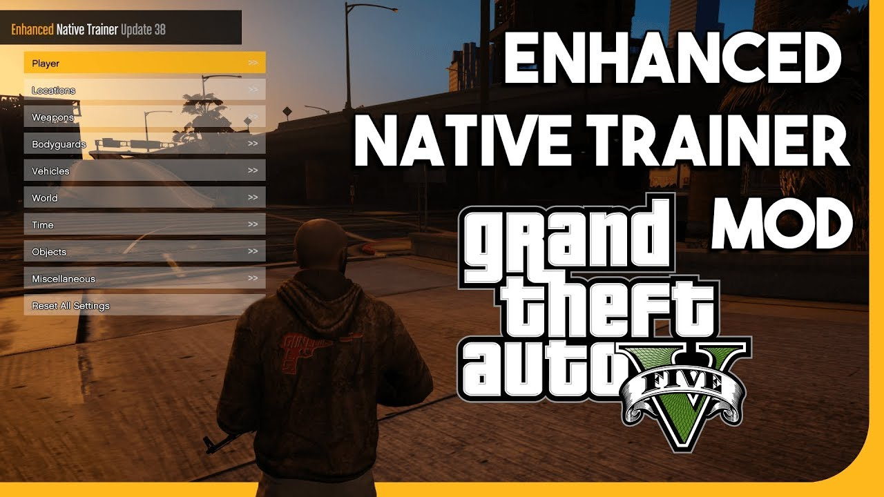 ► GTA V - HOW TO INSTALL THE ENHANCED NATIVE TRAINER MOD