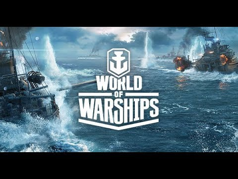 Playing with my fleet (World of Warships Blitz)