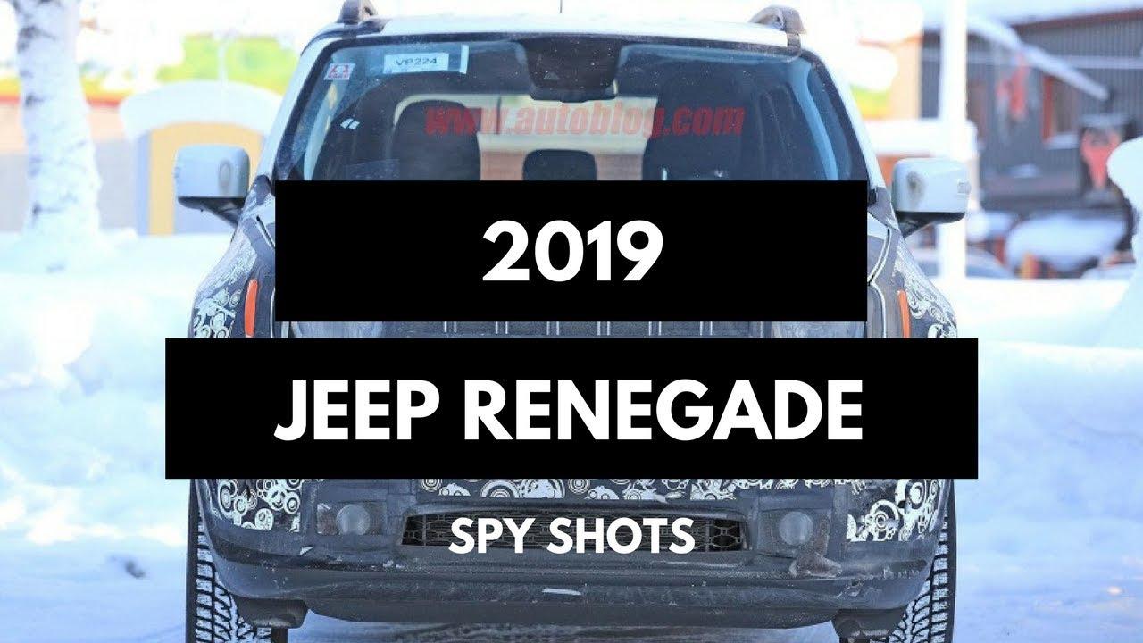 Hot News 2019 Jeep Renegade Spy Shots Youtube