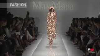 """MAX MARA"" Full Show Spring Summer 2015 Milan by Fashion Channel"