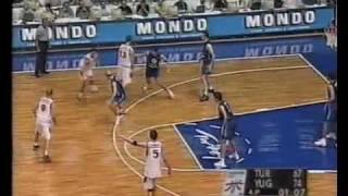 Sampion Evrope 2001 Jugoslavija - Turska 78:69 - Iggy Speed