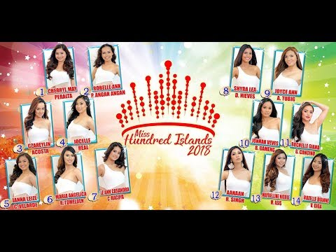 Miss Hundred Islands 2018 (Pre-Pageant)