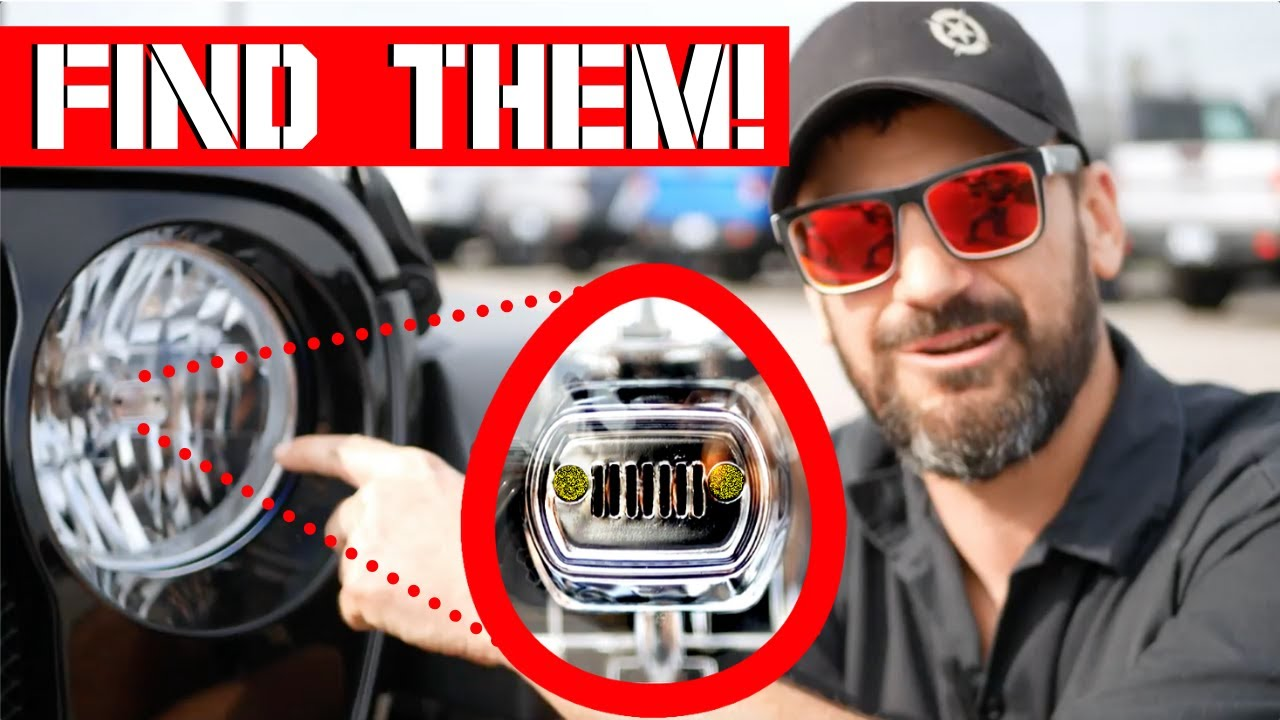 10 Hidden Easter Eggs On The Jeep Jl Wrangler Gladiator Youtube
