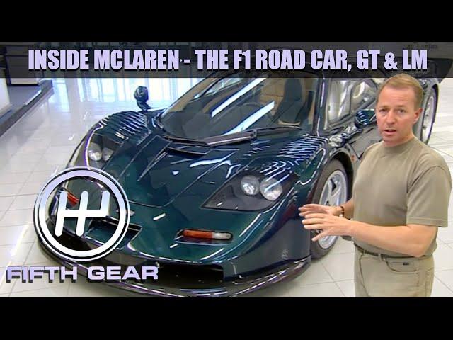 Inside McLaren with Martin Brundle | Fifth Gear