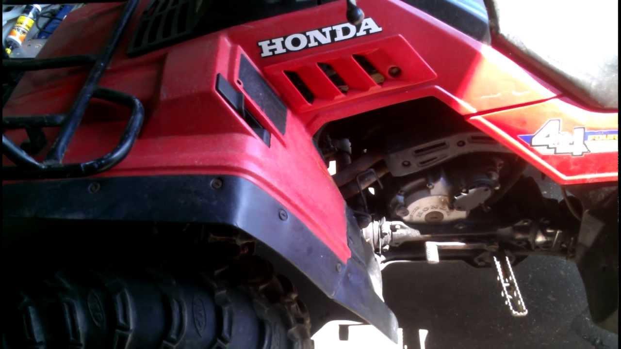 hight resolution of honda fourtrax 350 4x4 youtube carburetor diagram also 1987 honda fourtrax 350 neutral safety switch