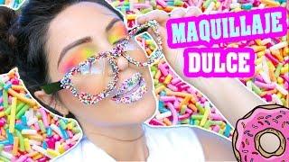 Maquillaje con Dulce Sprinkles Fácil y Lindo! SandraCiresArt