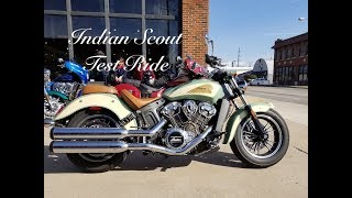 2018 Indian Scout Test Ride