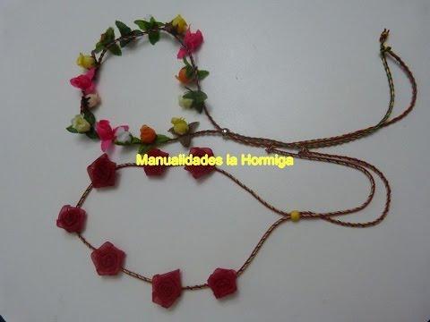 Pap, tiaras para el cabello, flores rococo en cinta organza, Accesorios para Niñas , 357