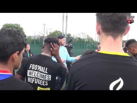 Brentford and QPR fans put aside rivalry for Amnesty International