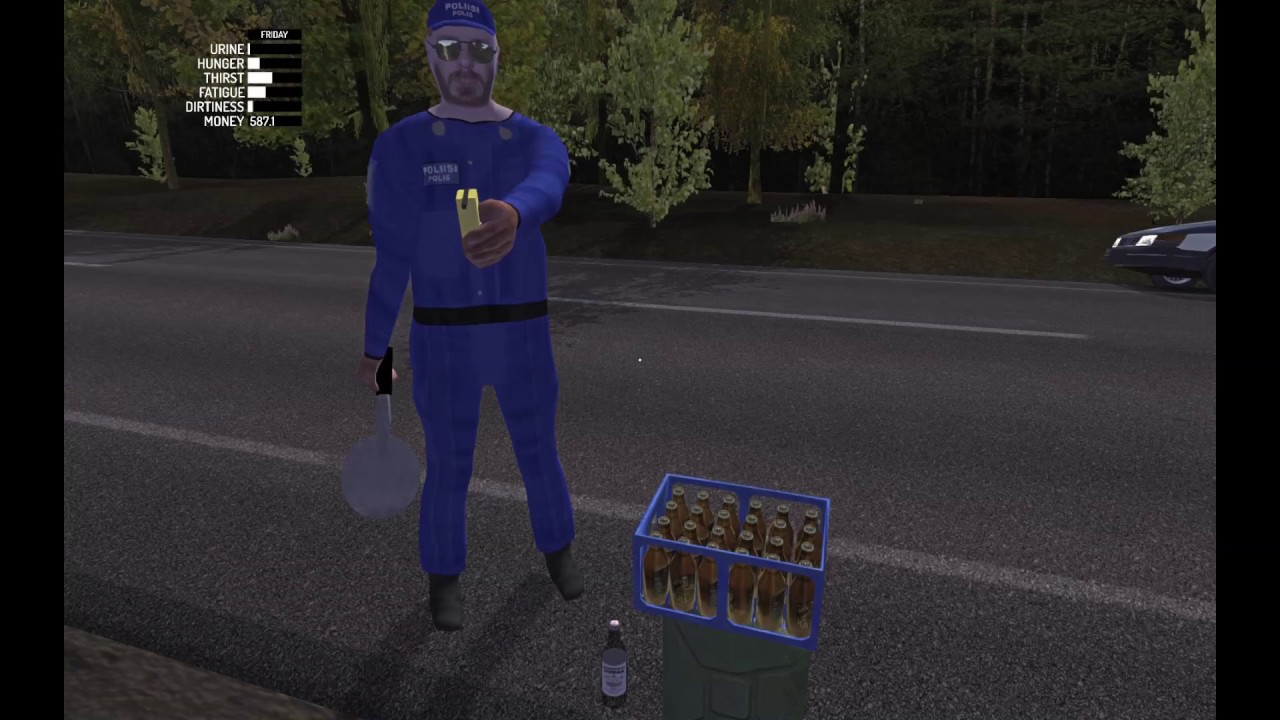 a case of beer and a bottle of vodka before breathalyzer test my summer car youtube. Black Bedroom Furniture Sets. Home Design Ideas
