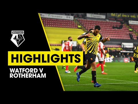Watford Rotherham Goals And Highlights