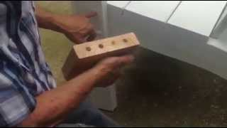 Boshell Custom Woodwork Adirondack Chair Construction Video
