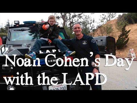 Noah's Visit with the LAPD