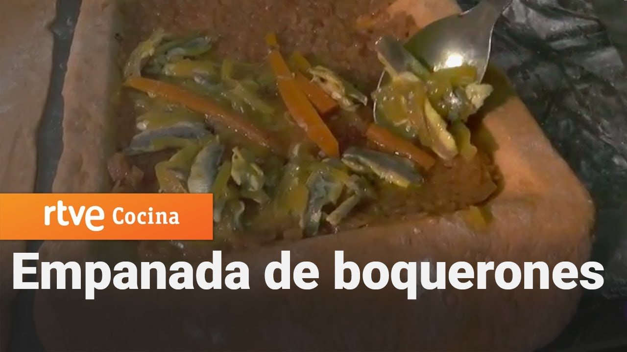 Empanada de boquerones en escabeche - Aquí la Tierra   RTVE Cocina