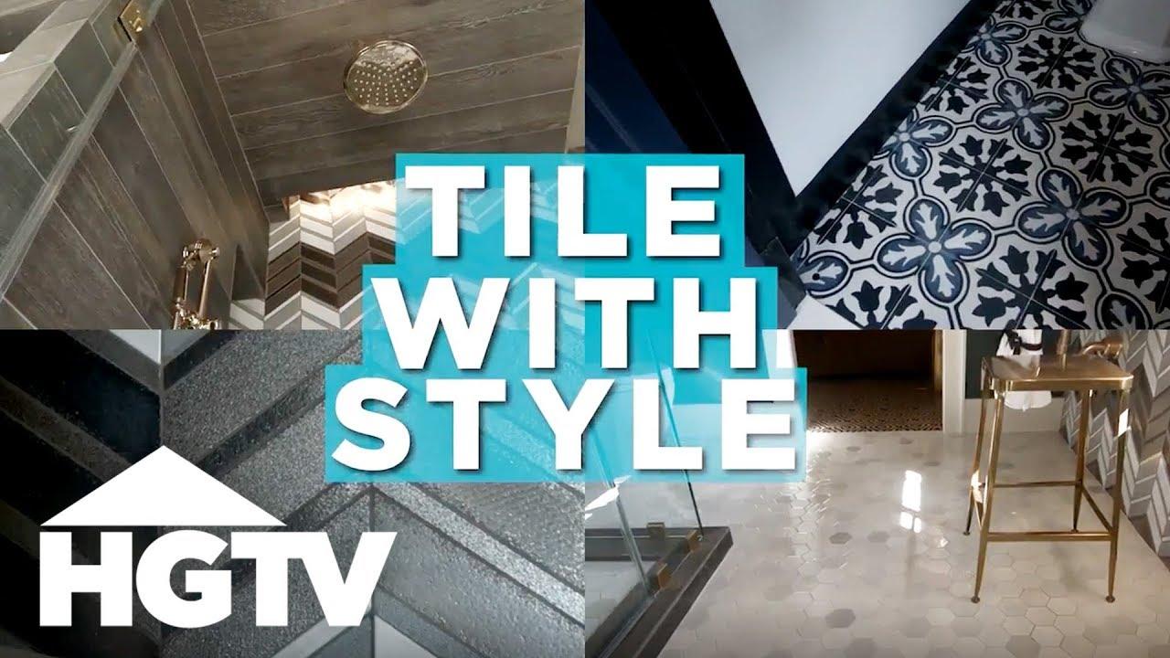 Stylish Tile Designs - HGTV - YouTube