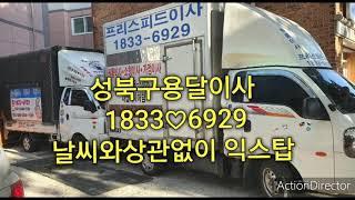 성북구용달이사