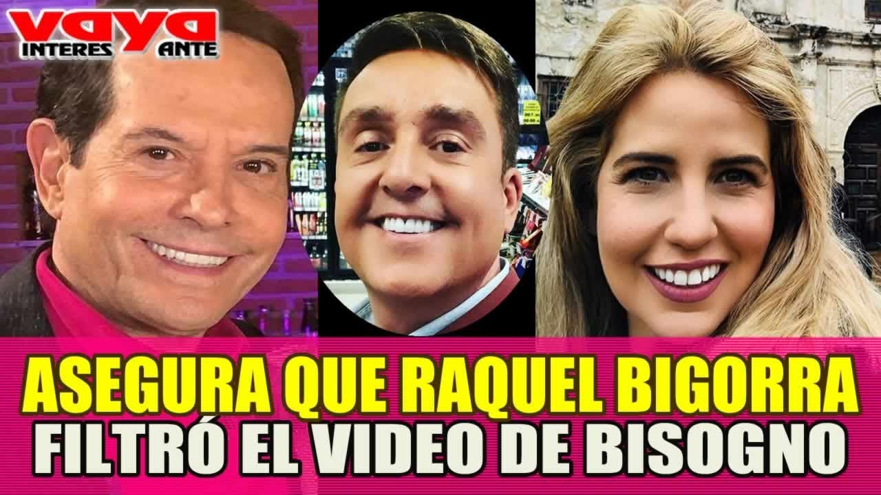 Pepillo Origel asegura que Raquel Bigorra filtró video de Daniel Bisogno con otro hombre