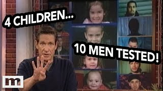 4 Children...10 Men Tested! | The Maury Show