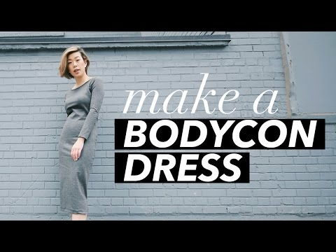 How to Make a Bodycon Dress (+ 3 ways to wear!)   WITHWENDY. Http://Bit.Ly/2GPkyb3