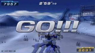 Armored Core Formula Front Suzaku versus Nehan Gren missile ac