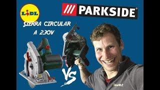 #PARKSIDE - Sierra circular a 230V - Impresión con sorpresa e instalación - 1º Parte