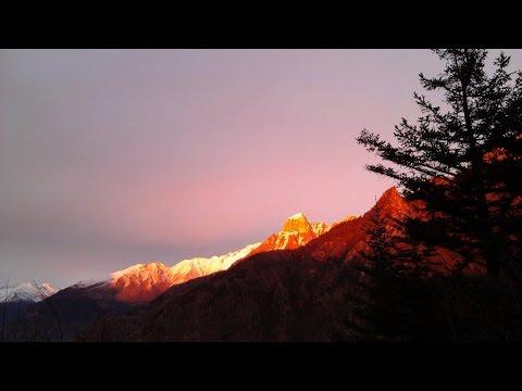 Fine Dicembre in località Bisù di Niardo (BS) - Timelapse 1080p