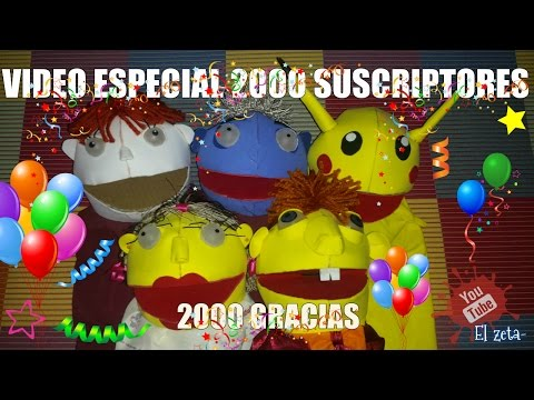 Vídeo Especial 2000 Suscriptores ( 2000 Gracias )