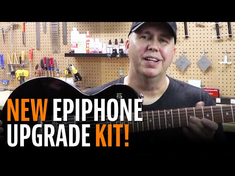 Phil McKnight Shows Off Our New Epiphone Hardware and Electronics Upgrade Kit