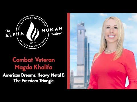 Combat Veteran Magda Khalifa: American Dreams, Heavy Metal & The Freedom Triangle