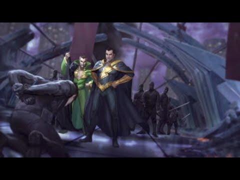 Injustice 2-Multiverse:Battle Simulator Medium (Black Adam).
