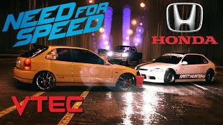 Need For Speed 2015 Honda Civic Type-R