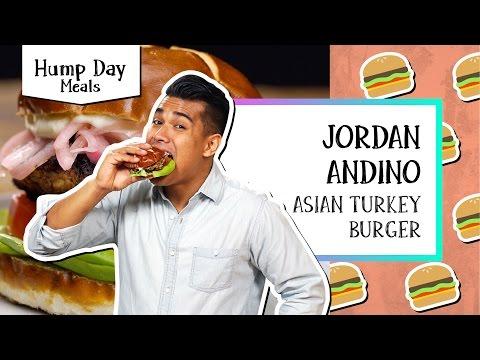Asian Turkey Burger | Hump Day Meals Jordan Andino