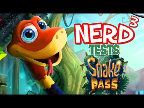 Nerd³ Tests... Snake Pass - New Seriessssssssssssss!