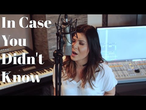 In Case You Didn't Know - Brett Young (Angelika Vee Cover)