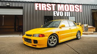 homepage tile video photo for FIRST MODS for my EVO III GSR! Coilover Suspension Install