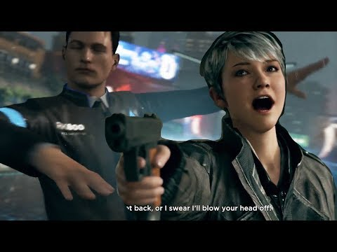 Detroit Become Human: Always Bet on Gun |
