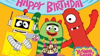 Yo Gabba Gabba! Birthday Party Part 1 - top iPad app demos for kids - Ellie