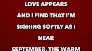 Bob Dylan - September of My Years  [Full Song Lyrics]